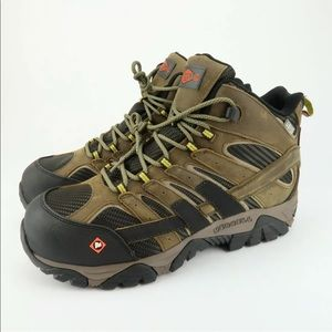 Merrell Moab 2 composite toe waterproof boots